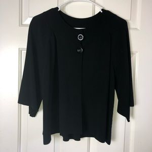 Cable & Gauge Black Size Large Sweater
